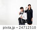 先生 中学生 学生服の写真 24712510