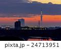 スカイツリー遠景〜ライトアップ〜 24713951