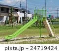 公園 児童公園 遊具の写真 24719424