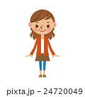 若い女性 24720049