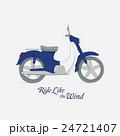 モーターバイク ベクトル オートバイのイラスト 24721407