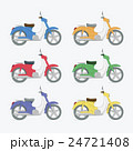 モーターバイク バイク ベクトルのイラスト 24721408