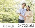 妊婦 夫婦 マタニティの写真 24722168