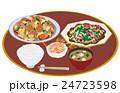 料理 食事 ご飯のイラスト 24723598