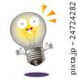 電球のひらめき 24724282