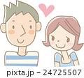 ラブラブなカップル(水色) 24725507
