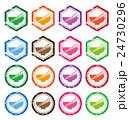 ベクター ご飯 アイコンのイラスト 24730296
