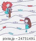 ベクトル 海 柄のイラスト 24731491