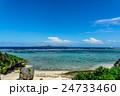 【沖縄県】真夏の海 24733460