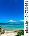 【沖縄県】真夏の海 24733461