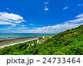 【沖縄県】真夏の海 24733464