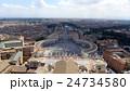サン・ピエトロ大聖堂 世界遺産 バチカン市国の写真 24734580