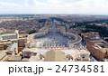 サン・ピエトロ大聖堂 世界遺産 バチカン市国の写真 24734581