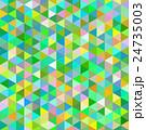 モザイク 三角 緑 24735003