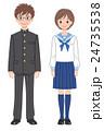 制服の男女11 24735538