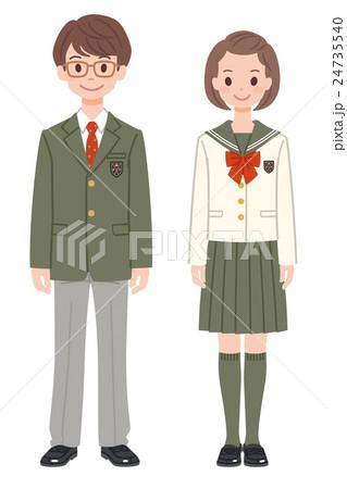 制服の男女13 24735540