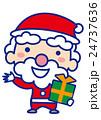 サンタクロース サンタ クリスマスのイラスト 24737636