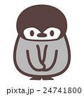 お辞儀するペンギン 24741800
