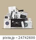 リサイクル 再生利用 家電のイラスト 24742600