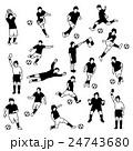 サッカー選手 24743680