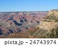 夕方のグランドキャニオンの絶景 アメリカ アリゾナ 24743974