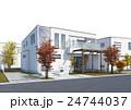 住宅 戸建住宅 一軒家のイラスト 24744037