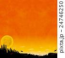 ハロウィンの背景素材 24746250
