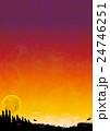 ハロウィンの背景素材 24746251