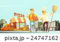 Pizza Delivery Illustration 24747162
