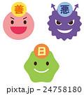 善玉菌 悪玉菌 日和見菌 24758180