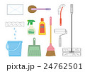 いろいろな掃除道具 24762501