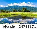 安曇野 田園風景 田園の写真 24763871