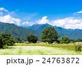 安曇野 田園風景 田園の写真 24763872