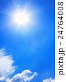 青空 太陽 日光の写真 24764008