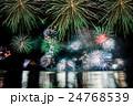 福井県 敦賀 気比 とうろう流しと大花火大会 24768539