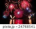 福井県 敦賀 気比 とうろう流しと大花火大会 24768541