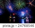 福井県 敦賀 気比 とうろう流しと大花火大会 24768546