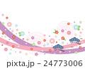 年賀状テンプレート(酉年) 24773006