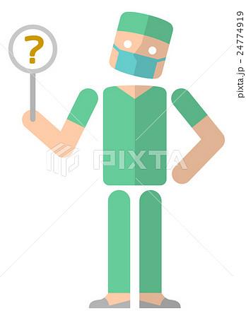 手術をおこなう医師:回答 わからない 24774919