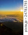 富士山 ご来光 日の出の写真 24781793