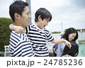 家族 親子 屋外の写真 24785236