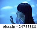 水族館 女の子 ポートレート 24785388