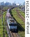 東京貨物ターミナルを出発するEF65 24787934