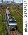 東京貨物ターミナルを出発するEF66 24787947