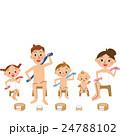 お風呂と家族 24788102