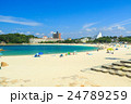 白良浜 海 海水浴の写真 24789259
