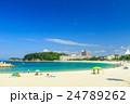 白良浜 海 海水浴の写真 24789262