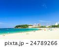 白良浜 海 海水浴の写真 24789266