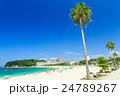 白良浜 海 海水浴の写真 24789267