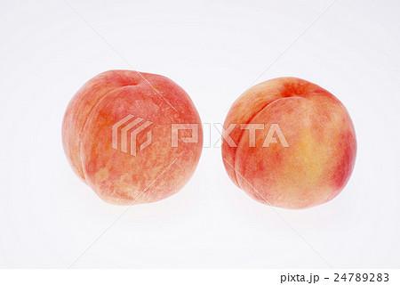 福島県産の桃 あかつき 24789283
